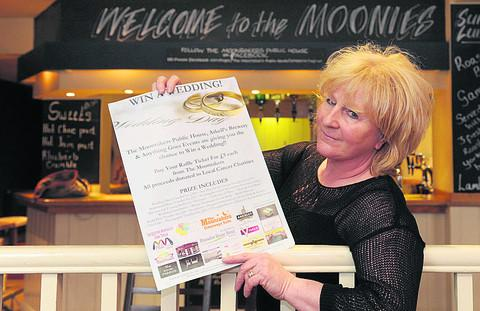 Moonrakers pub landlady Bev Neale has been raising money for Natasha Macdivitt