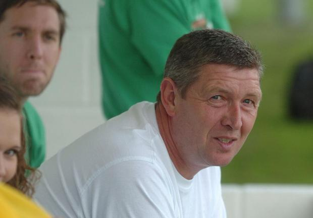 This Is Wiltshire: Shrivenham manager Dave Turner passed away on Tuesday morning