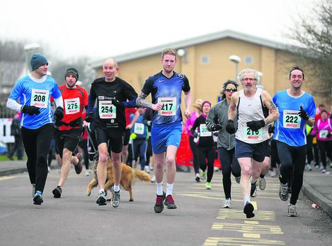This Is Wiltshire: Runners brave cold for Mad March Hare