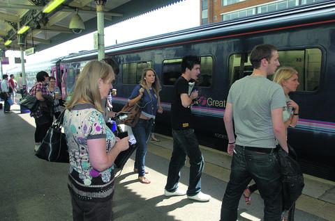 This Is Wiltshire: Rail passengers facing a chaotic Bank Holiday weekend