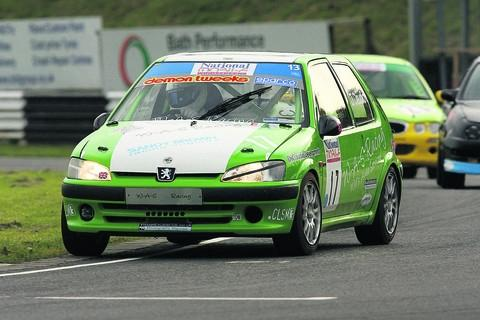 This Is Wiltshire: There is the chance to follow in the wheels of experienced drivers under the watchful eye of Castle Combe Circuit instructors