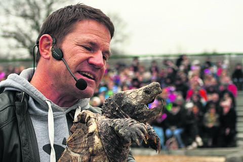 This Is Wiltshire: Presenter Steve Backshall will return to the adventure park this Easter