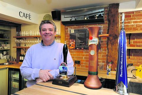This Is Wiltshire: Peppermill owner Philip O'Shea in his new-look bistro and wine bar