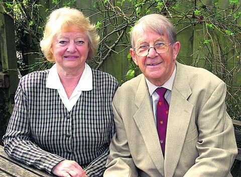 This Is Wiltshire: Margaret and Ray Taylor are not seeking re-election