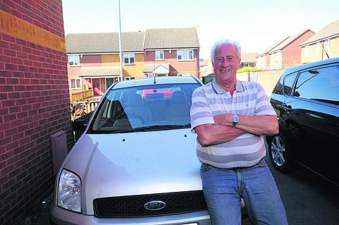 This Is Wiltshire: John Alford has his eyes on an upgrade to a Ford C-Max, but not just yet
