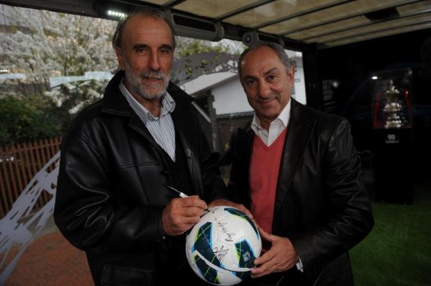 This Is Wiltshire: Former Swindon Town FC manager Ossie Ardiles involved in car accident in the Falkland Islands