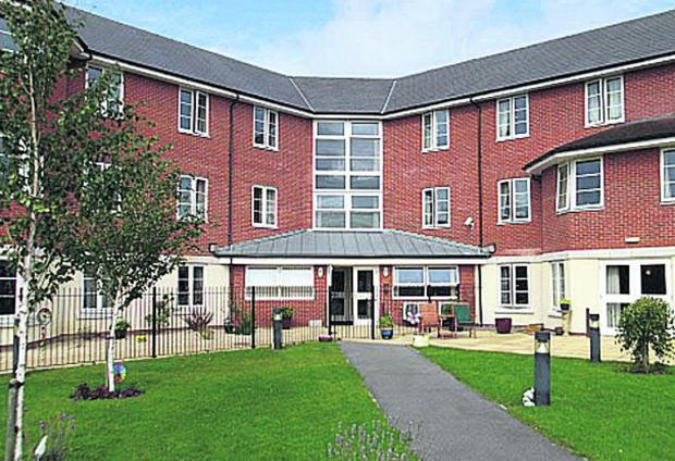 This Is Wiltshire: Princess Lodge Care Centre in Curie Avenue