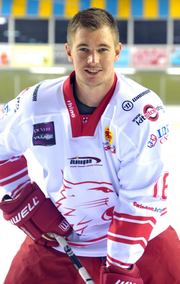 This Is Wiltshire: Swindon Wildcats star Lee Richardson