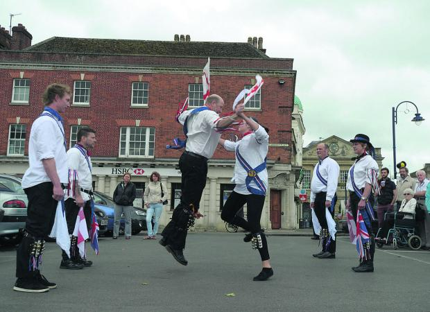 This Is Wiltshire: Devizes Jubilee Morris dance in the M
