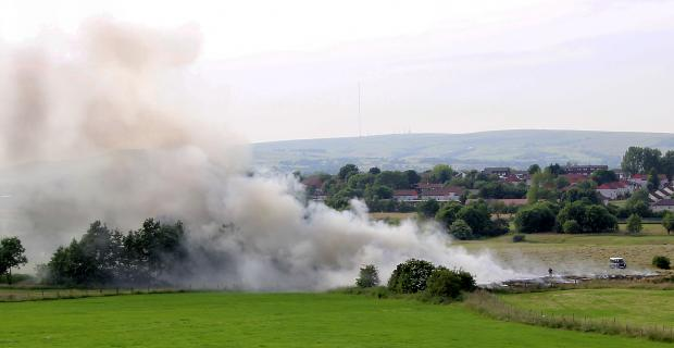This Is Wiltshire: Hot weather can spark fires