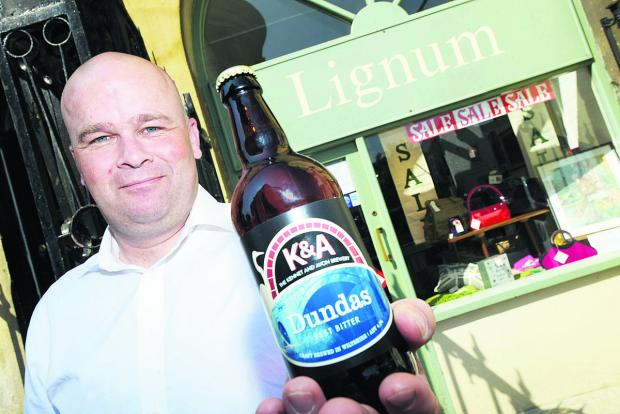 This Is Wiltshire: Malcolm Shipp wants to open a pub and bottle store at the Lignum shop, which is closing at the end of the month