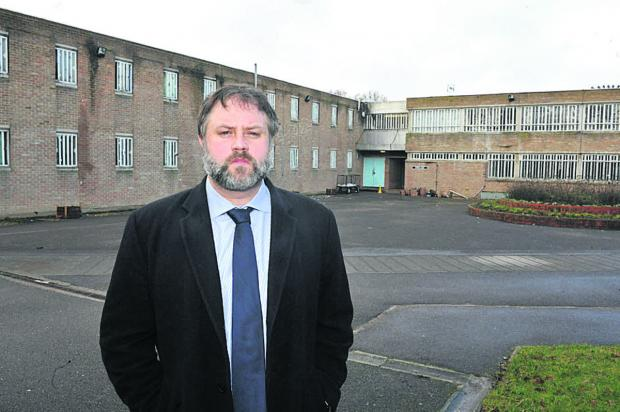 This Is Wiltshire: Erlestoke Prison governor Andy Rogers