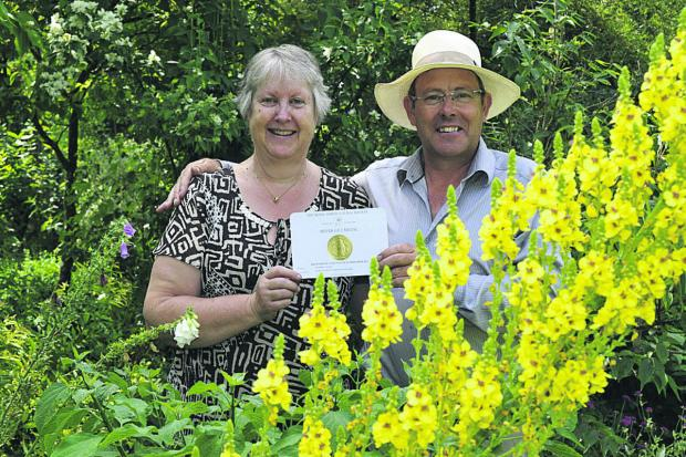 This Is Wiltshire: Mary and Terry Baker, of The Botanic Nursery in Atworth
