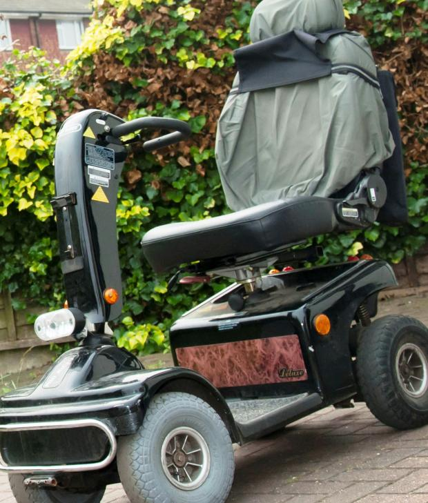 This Is Wiltshire: Christopher Kopijka pleads not guilty to stealing 84-year old Geoffrey Francis' mobility scooter