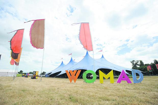 This Is Wiltshire: The popular WOMAD festival has been known to attract Prince Harry