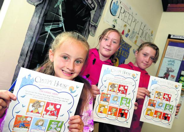 This Is Wiltshire: Young readers at Liden Library