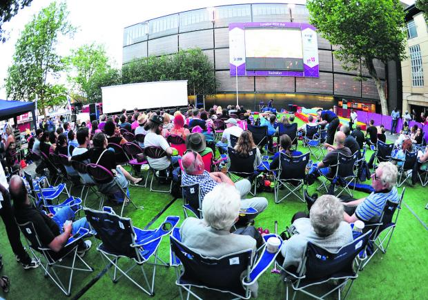 This Is Wiltshire: The Big Screen at Wharf Green