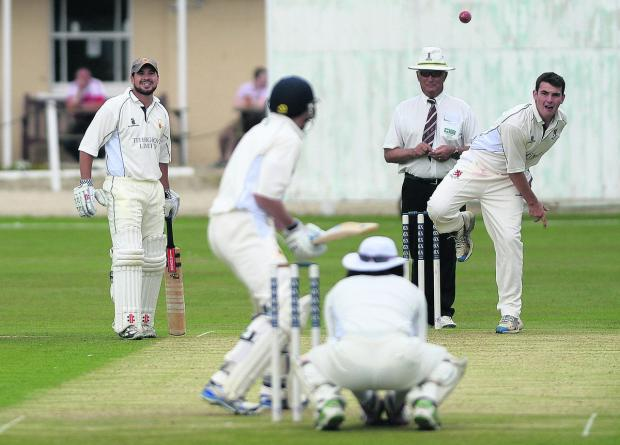 This Is Wiltshire: Adam Lavis took five wickets for Burbage & Easton Royal