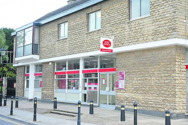 This Is Wiltshire: Melksham's Post Office, on Church Street