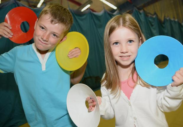 This Is Wiltshire: Youngsters enjoying a Hi5 camp