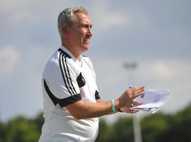 This Is Wiltshire: Swindon Supermarine manager Dave Webb