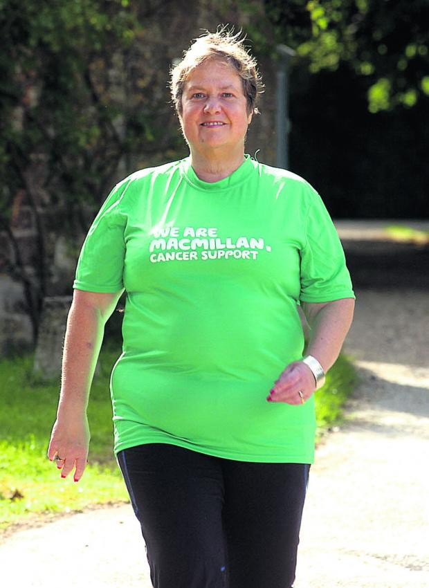This Is Wiltshire: Val Simpson has signed up to a charity walk  (PM627) By PAUL MORRIS
