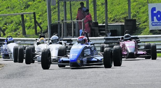 This Is Wiltshire: Racing returns to Castle Combe on Easter Monday