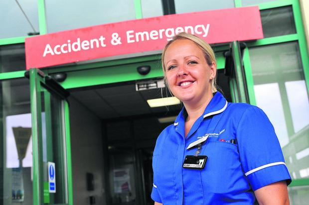 This Is Wiltshire: A & E Sister Claire Gordon
