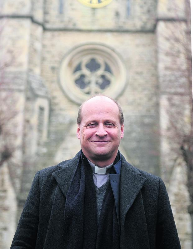 This Is Wiltshire: Christchurch Vicar Simon Stevenette wants whoever is elected in Old Town to make the welfare of the elderly a priority