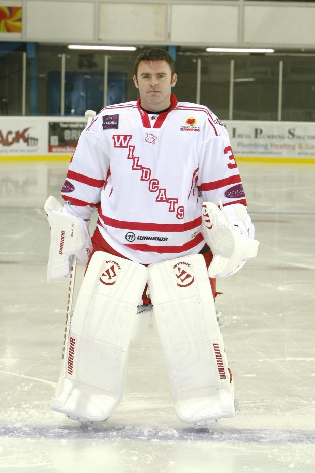 This Is Wiltshire: Swindon Wildcats netminder Stevie Lyle