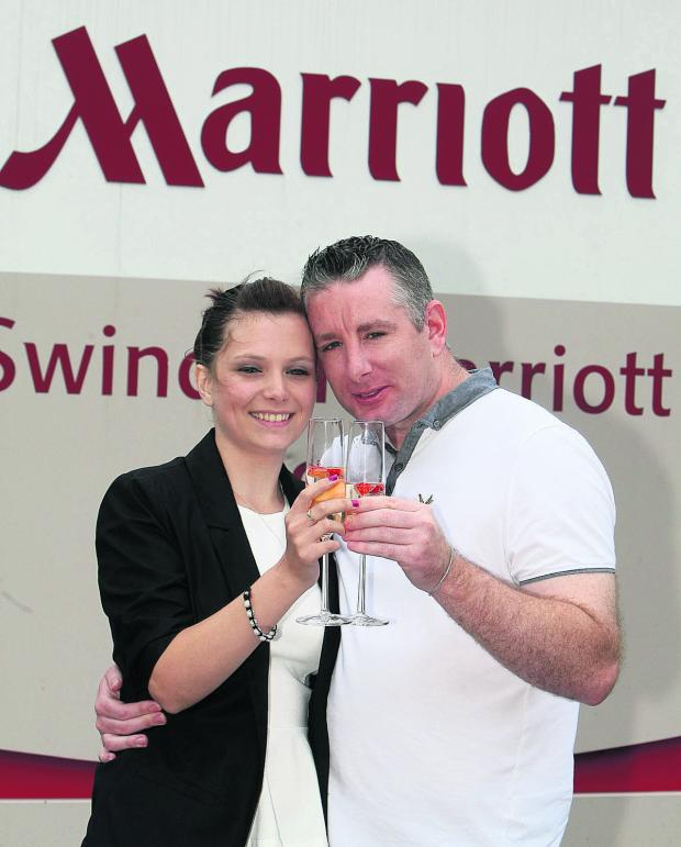 This Is Wiltshire: Winning couple Leanne Warner and Daniel Harper