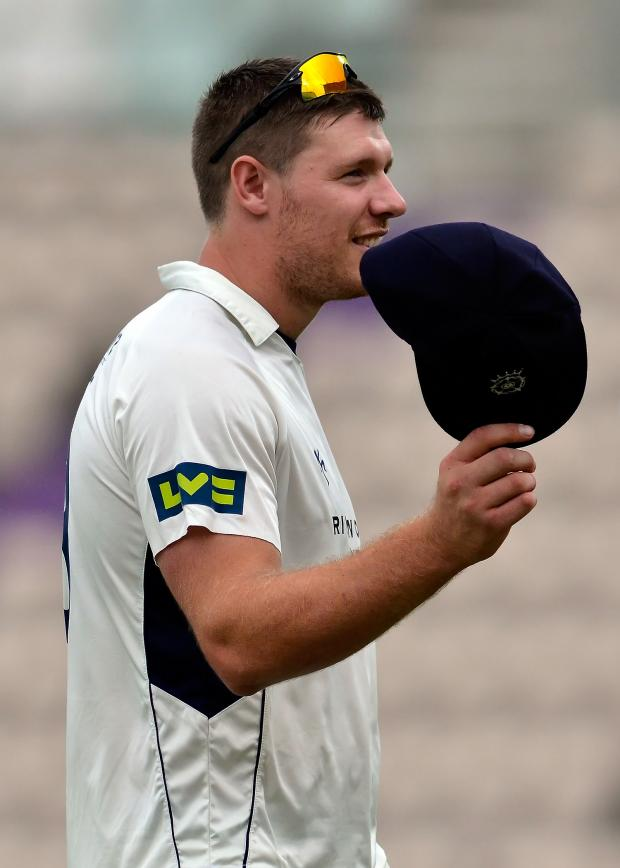 This Is Wiltshire: Hampshire star Matt Coles has signed on for Goatacre