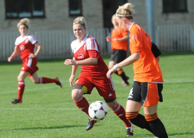 This Is Wiltshire: Ellie Maynard of STFC Ladies