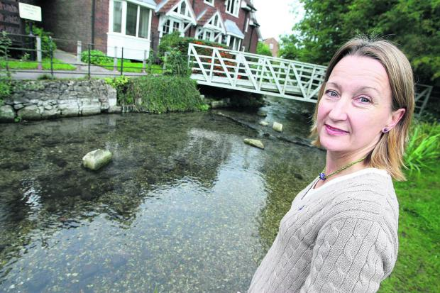 This Is Wiltshire: Charlotte Hitchmough, director of Action for the River Kennet