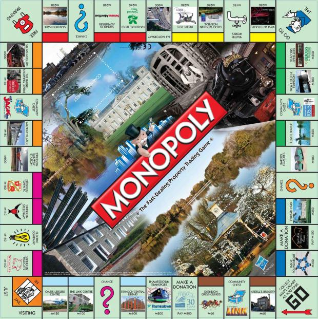 This Is Wiltshire: The Swindon edition of Monopoly - named sixth weirdest ever created