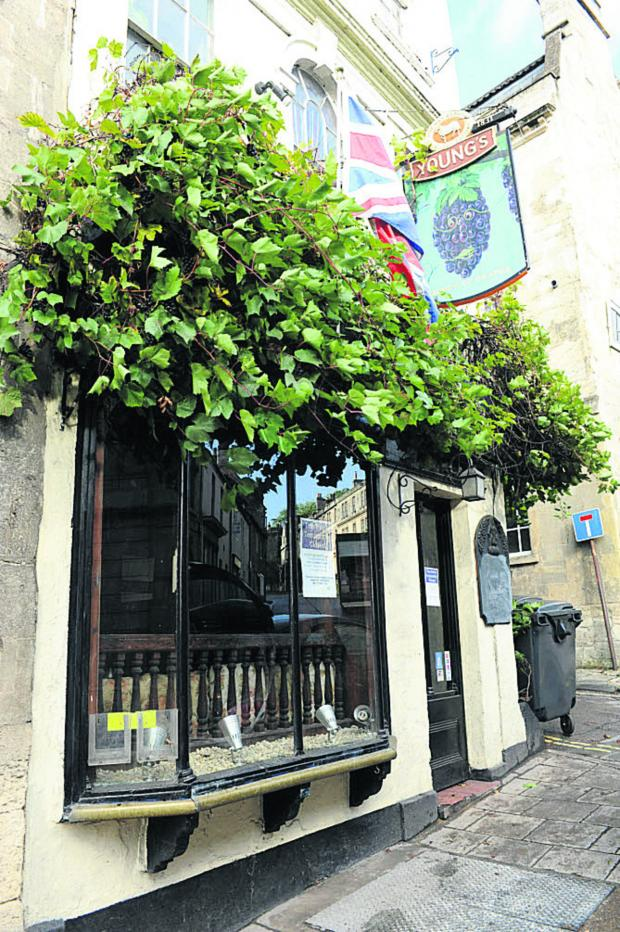 This Is Wiltshire: Young's has put the Bunch of Grapes in Bradford on Avon on the market again after a sale fell through