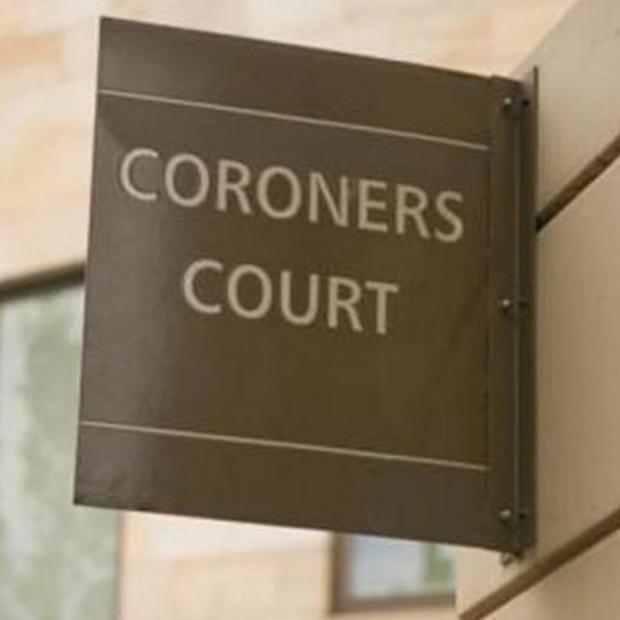 This Is Wiltshire: The coroner's court heard how Keith Griffiths tried to climb out of a windo