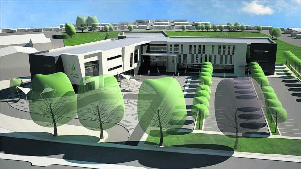 This Is Wiltshire: A CGI impression of what the new campus will look like