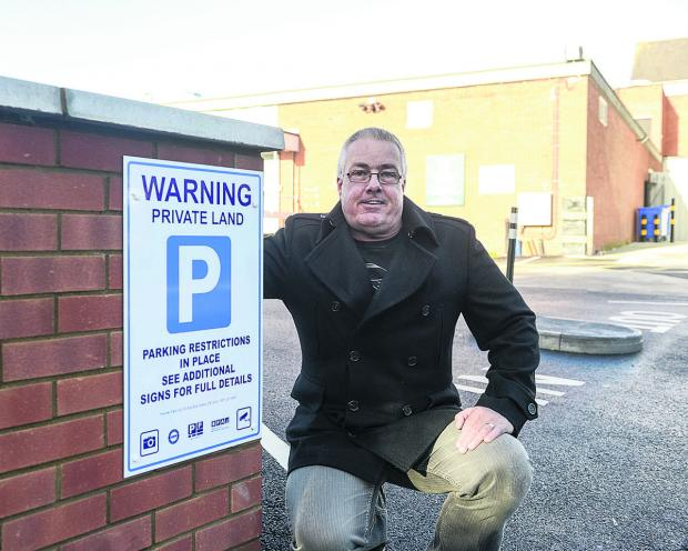 This Is Wiltshire: Steve Miller, who was one of those caught out by the car park's original rules