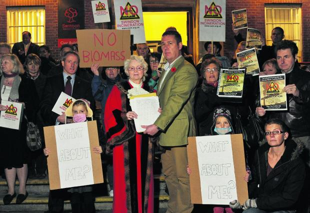 This Is Wiltshire: Protesters hand over the petition