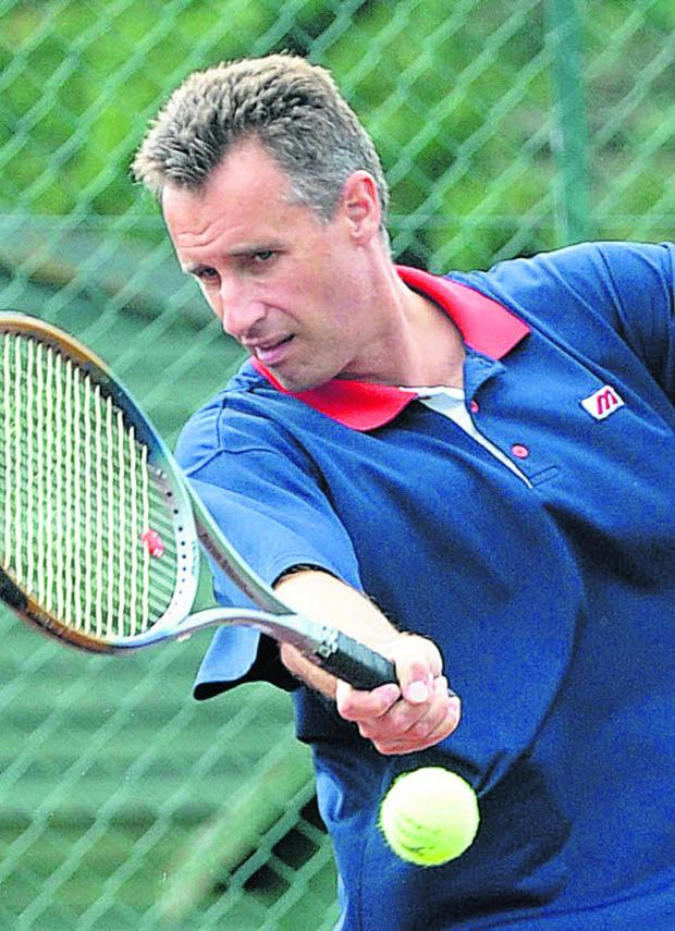 This Is Wiltshire: Malmesbury Tennis Club chairman Miles Edmeston
