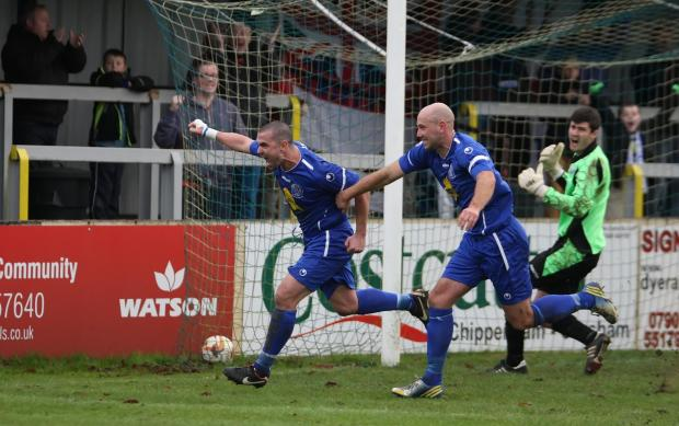 This Is Wiltshire: Chippenham Town will host Arlesey Town next week