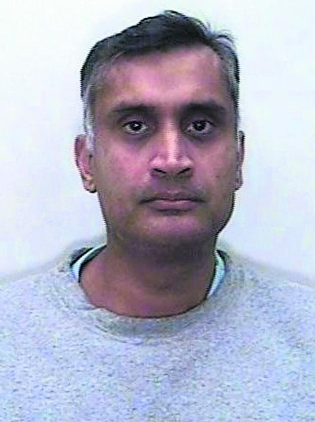 This Is Wiltshire: Davinder Jeet Bains, 47, used a secret camera hidden inside his watch to assault more than two dozen women at a medical practice in Royal Wootton Bassett