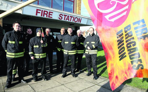 This Is Wiltshire: Firefighters are set to take further industrial action on May 2