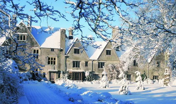 This Is Wiltshire: Avebury Manor is getting a Christmas makeover this year