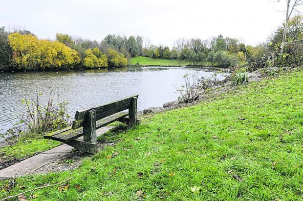 This Is Wiltshire: Liden Lagoon where Trevor Barrett was found