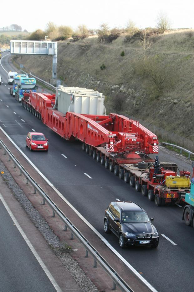 This Is Wiltshire: Abnormal loads will pass through the county on Wednesday and Thursday this week