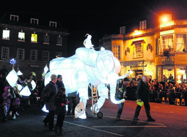 This Is Wiltshire: Devizes carnival and street festival organisers need somewhere to store important items, including their iconic elephant lantern