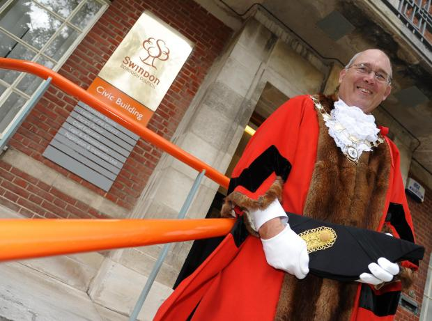 This Is Wiltshire: Swindon mayor Nick Martin
