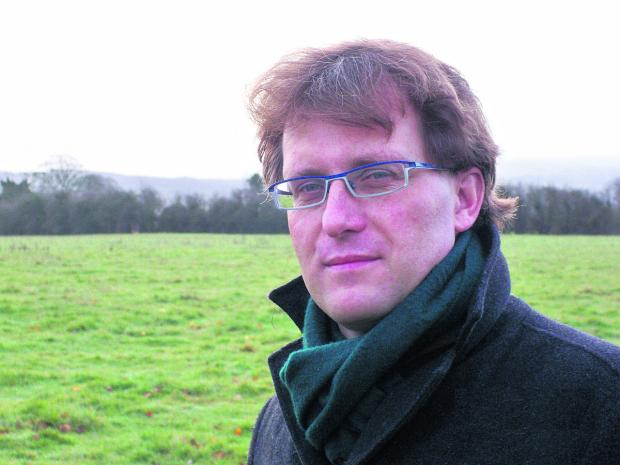 This Is Wiltshire: Henry Oliver, Director of the North Wessex Downs Area of Outstanding Natural Beauty